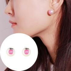 Lucu Coretan Di Disimulasikan Mutiara Anting-Anting untuk Wanita Manik Seksi Penjualan BoHo Gaya Earring Perhiasan-Internasional