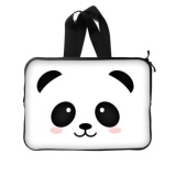 Beli Lucu Panda Wajah Tema Pola Macbook Macbook Air Pro 13 Inch Semua 13 Laptop Notebook Komputer Carrying Case Sleeve Dua Sisi Dengan Tali Atau Pegangan Internasional Online