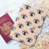 Beli Cute Printing Pu Leather Passport Holder Perlindungan Cover Id Kartu Kredit Case Intl Yang Bagus
