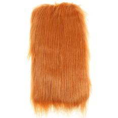 Cyber Clearance Sale Lion Mane Wig untuk Anjing/Cat Kostum Festival Pesta Faux Rambut Singa Pakaian Hewan Peliharaan (35 -40 Cm) -Intl