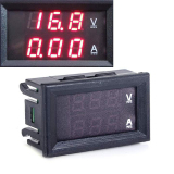 Review Cyber Dc 100 V 10A Dual Merah Led Digital Voltmeter Ammeter Panel Amp Volt Gauge Di Indonesia