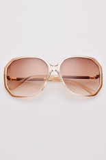Beli Cyber Mode Kasual Wanita Besar Bingkai Kacamata Hitam Manis Eyewear Tipe 5 Online Terpercaya