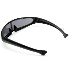 Kacamata Hitam Bermata Sunnies Cermin Ruang Gelap Robot Perisai Kostum Makhluk Asing