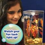 Toko Silinder Self Cleaning Tank Lengkap Aquarium My Fun Ikan Desktop Dekorasi Intl Lengkap