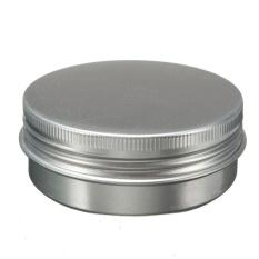 D-Pocket 60 Ml Kosong Kosmetik Krim Toples Pot Tin Aluminium Wadah Sekrup Lidnail Baru-Internasional