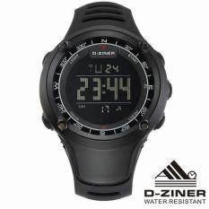 Review Terbaik D Ziner Ambit2 Jam Tangan Sport Olahraga Digital Dz 8182 Black Black