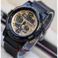 Review Pada D Ziner Dual Time Dz8126 Jam Tangan Sport Wanita Rubber Sporty