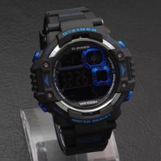 Jual D Ziner Dz 2993 Digital Jam Tangan Pria Rubber Strap Branded
