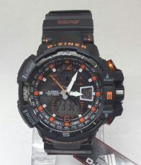 Harga D Ziner Jam Tangan Pria Dz 8068 Rubber Strap Black Orange Termahal