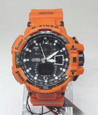 Penawaran Istimewa D Ziner Jam Tangan Pria Dz 8068 Rubber Strap Orange Terbaru
