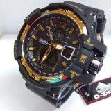 D Ziner Jam Tangan Pria Original Dual Time Sporty D 0034A Hitam Gold Dki Jakarta