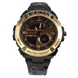 Spesifikasi D Ziner Jam Tangan Pria Stainlesstel Dz875Bfg Black Gold Paling Bagus