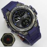 Jual D Ziner Jam Tangan Sport Dual Time 8139 Blue Murah Jawa Timur