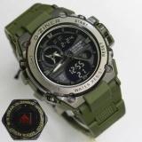 Toko D Ziner Jam Tangan Sport Dual Time 8139 Green Terlengkap Jawa Timur