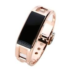 D8 Bluetooth Smart Gelang Kebugaran Tracker Pedometer Tidur Monitor Panggilan Pesan Notifier Smart Gelang Banyak Cermin-Intl