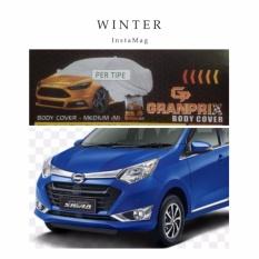 Harga Termurah Granprix Body Cover Mobil Daihatsu Sigra Calya Selimut Mobil Pelindung Mobil Body Cover Mobil Sarung Mobil