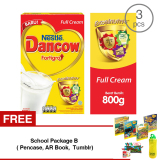 Jual Beli Dancow Fortigro Full Cream 800Gr 3 Pcs Gratis 1 Sch**l Package B Pencase Ar Book Tumblr