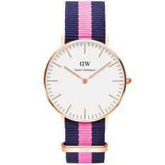 Harga Daniel Wellington 0505Dw Jam Tangan Wanita Classic Winchester 36Mm Women Nylon Watch Blue Pink Satu Set