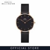 Diskon Daniel Wellington Classic Petite Ashfield 32Mm Hitam Daniel Wellington
