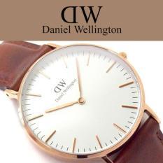 Beli Barang Daniel Wellington Classic St Mawes 36Mm Rosegold Jam Tangan Wanita Perempuan Cokelat Muda Kulit Strap Rose Gold Ring Online