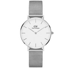 Review Tentang Daniel Wellington Dw00100164 Jam Tangan Wanita Classic Petite Sterling 32Mm Women Metal Bracelet Watch Silver White