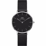Spesifikasi Daniel Wellington Dw00100202 Jam Tangan Wanita Classic Petite Ashfield 32Mm Women Stainless Steel Watch Silver Black