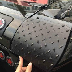 Danti Cowl Body Armor Powder Coated Finish Cover Cowok Luar For Jeep Wrangler Jk Rubicon Sahara Sport X Unlimited 2 4 Pintu 2007 2016 Versi Upgrade Terbaru Tiongkok Diskon