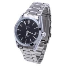 Jual Hari Kalender Men S Stainless Steel Wrist Watch Lengkap