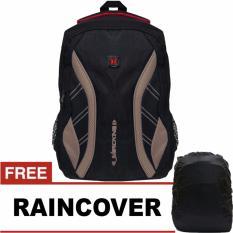 Jual Daytona Treaking Laptop Raincover Backpack Coklat Branded Murah