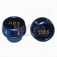 DBS Cover - Tutup - Jalu - Bandul as roda depan Satria Fu 150 cc Almini Biru
