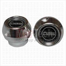 DBS Cover - Tutup - Jalu - Bandul as roda depan Shogun R Almini Silver