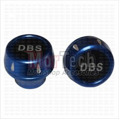 DBS Cover - Tutup - Jalu - Bandul as roda depan Shogun SP Almini Biru