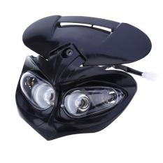 Diskon Produk Dc 12 V 18 Watt Lampu Ganda Sepeda Motor Hadiah Kepala Tinggi Rendah Balok For Lampu F Elang Apollo Hitam