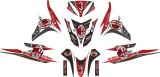 Beli Decal Modifikasi Stiker Honda Vario Techno 125 Ac Milan Seken