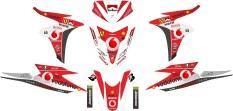 Pusat Jual Beli Decal Modifikasi Stiker Vario Techno 125 Vodafone Jawa Timur