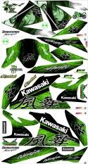 Decal Ninja karbu 250 cc