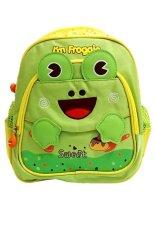 Spesifikasi Deerde Ransel Play Group Frog Hijau Lengkap Dengan Harga