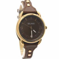Dejavu DJ5021GZ Original Watch - Jam Tangan Fashion Wanita - Leather strap