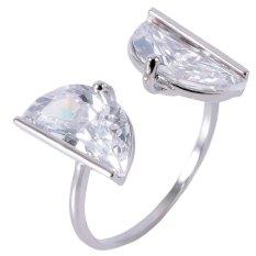 Tongkat Berlian Imitasi Halus Surat Cincin untuk Wanita (SATU UKURAN) (Emas)-Intl