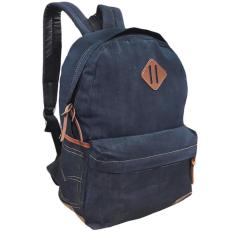 Obral Denim Respect Plain Backpack Murah