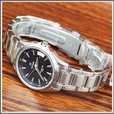 Devond 3206 jam tangan wanita strap stainless-silver