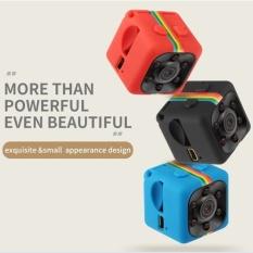 Dewtreetali SQ11 Mini Camcorder Kamera HD Mobil Malam 1080P Untuk Olahraga Aerial