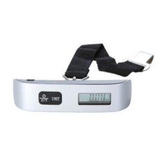Digital Luggage Scale with LCD Backlight Portable Best for Travel (Silver) - intl