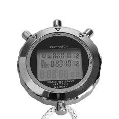 Beli Digital Stopwatch Quartz Countup Timer Waktu Jam For Olahragawan Olahragawan Secara Angsuran