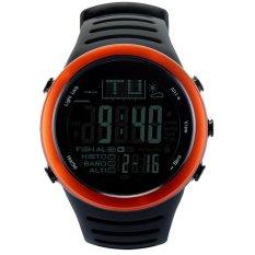 Dapatkan Segera Jam Tangan Digital Jam Tangan Pria With Prakiraan Cuaca Alat Pengukur Tinggi Barometer Pengukur Suhu Tinggi For Mendaki Memancing Olahraga Luar Ruangan