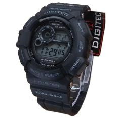 Digitec DG2028T Digital Jam Tangan Pria Rubber Strap - Hitam