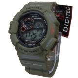 Jual Beli Digitec Dg2028Tm Digital Jam Tangan Pria Rubber Strap Hijau Army Jawa Barat