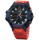 Beli Digitec Dg2094T Jam Tangan Pria Karet Merah Navy Murah Di Dki Jakarta