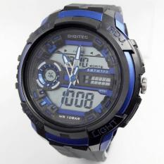 Digitec Dg3025 - Jam Tangan Sporty Pria dan Wanita - Design Aerodinamis - Actual Sporty - Original