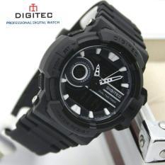 Harga Digitec Dg3057 Prt Dual Time Pria Rubber Strap Baru